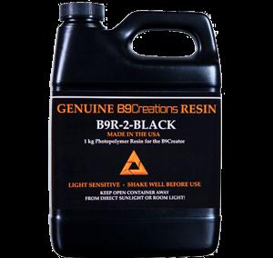 B9R-2 Résine noire