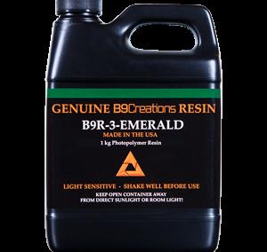 B9R-3 Résine Emerald